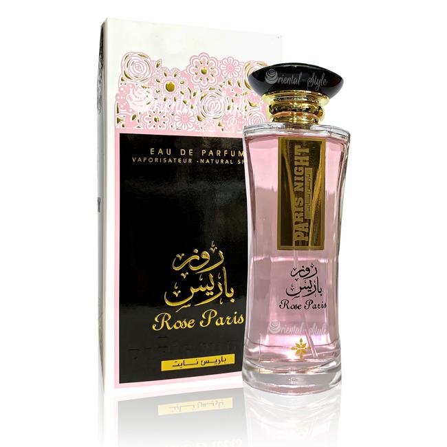 Ard Al Zaafaran Perfumes  Rose Paris Night Eau de Parfum 100ml Ard Al Zaafaran Perfume Spray