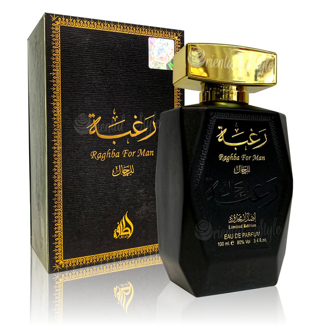 Lattafa Perfumes Raghba For Man Eau de Parfum 100ml