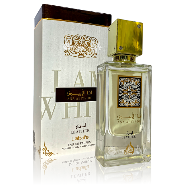 Lattafa Perfumes Ana Abiyedh Leather Eau de Parfum 60ml Perfume Spray