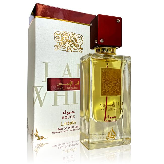 Lattafa Perfumes Ana Abiyedh Rouge Eau de Parfum 60ml