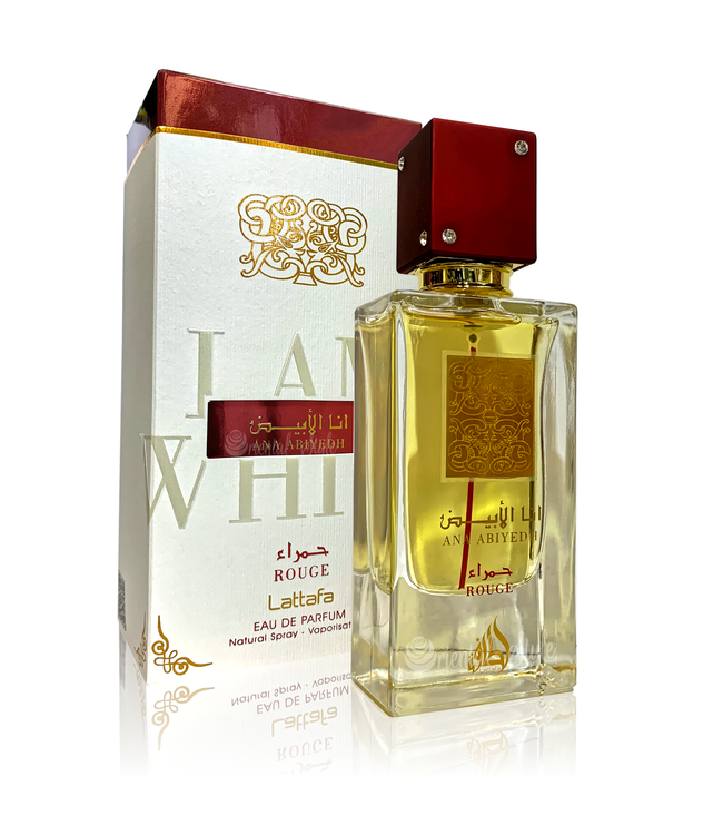 Lattafa Perfumes Ana Abiyedh Rouge Eau de Parfum 60ml Perfume Spray