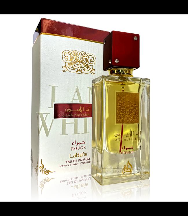 Lattafa Perfumes Perfume Ana Abiyedh Rouge Eau de Parfum 60ml Perfume Spray
