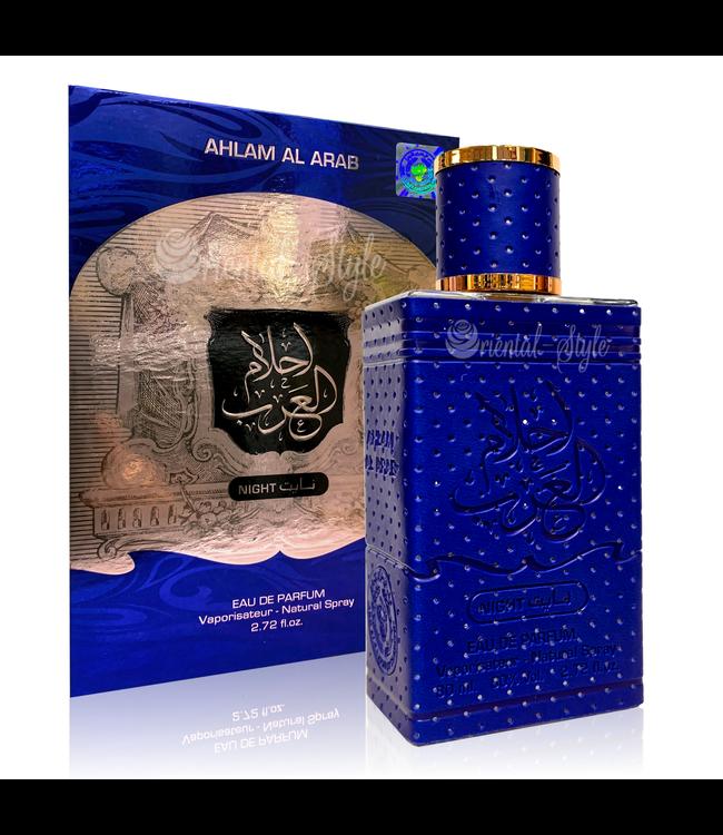 Ard Al Zaafaran Perfumes  Perfume Ahlam Al Arab Night Eau de Parfum Perfume Spray