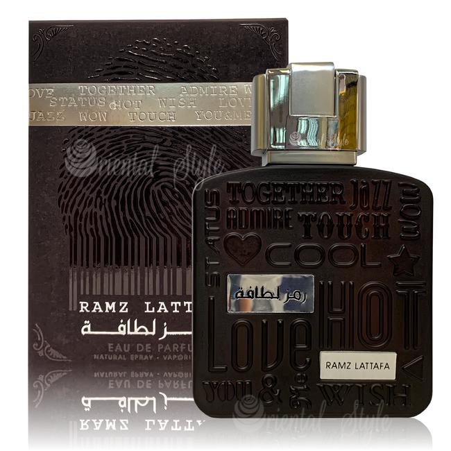Lattafa Perfumes Ramz Silver Lattafa Eau de Parfum 100ml Perfume Spray