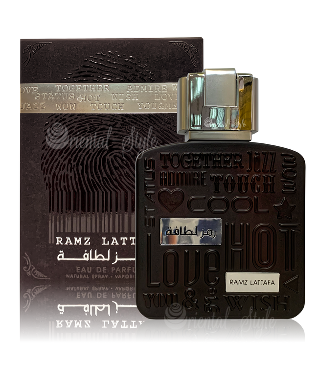 Lattafa Perfumes Perfume Ramz Silver Eau de Parfum 100ml Perfume Spray