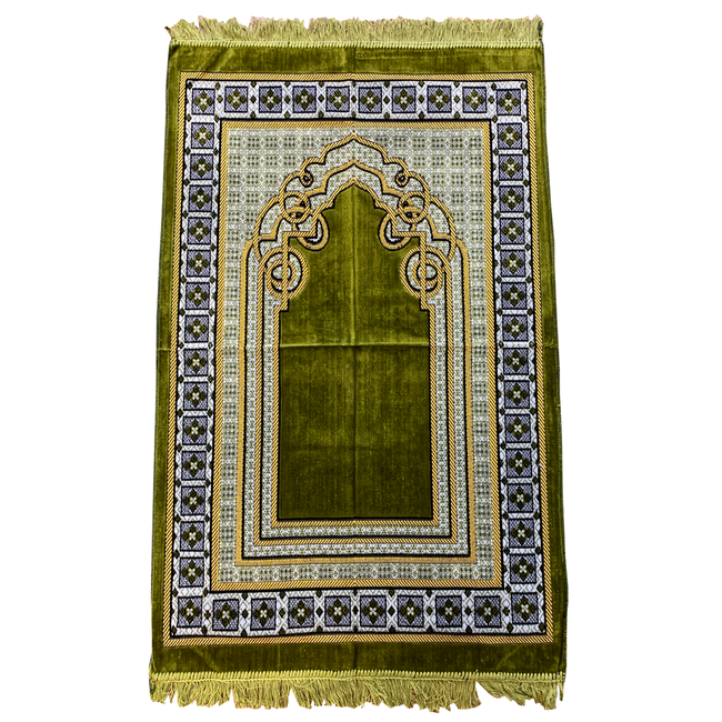 Prayer Mat Seccade in Moss Green