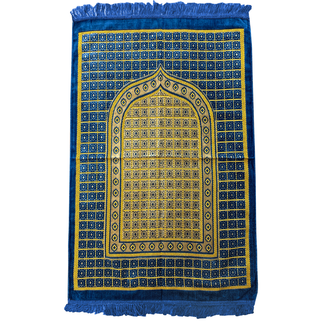 Prayer Mat Seccade in Blue