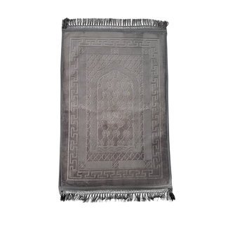 Prayer Mat Seccade Foam Padded - Grey