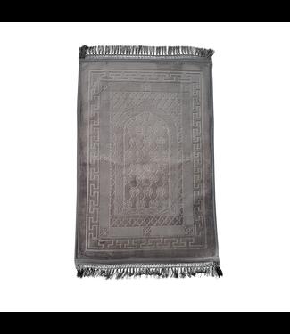 Gebetsteppich Seccade Gepolstert - Grau
