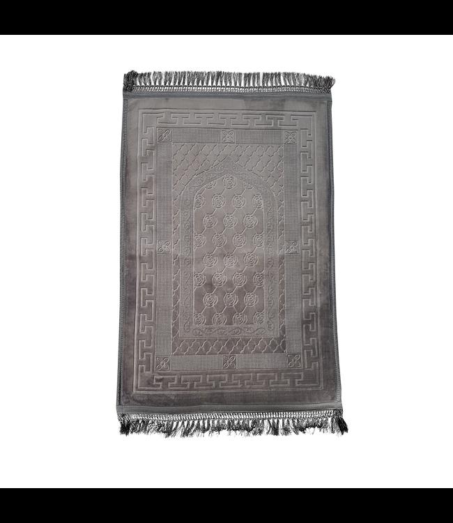 Prayer Mat Seccade Foam Padded - Grey