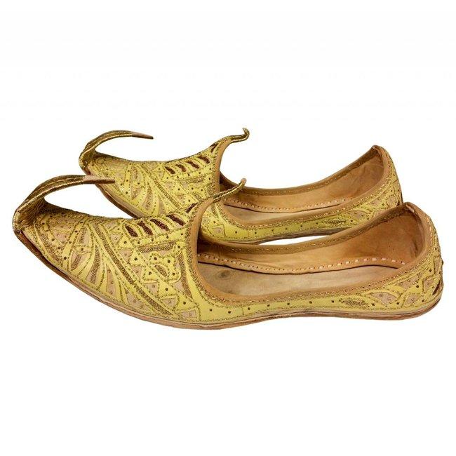 Indian beak shoes - Men Khussa in