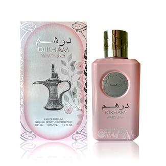 Ard Al Zaafaran Perfumes  Dirham Wardi Eau de Parfum 100ml Ard Al Zaafaran