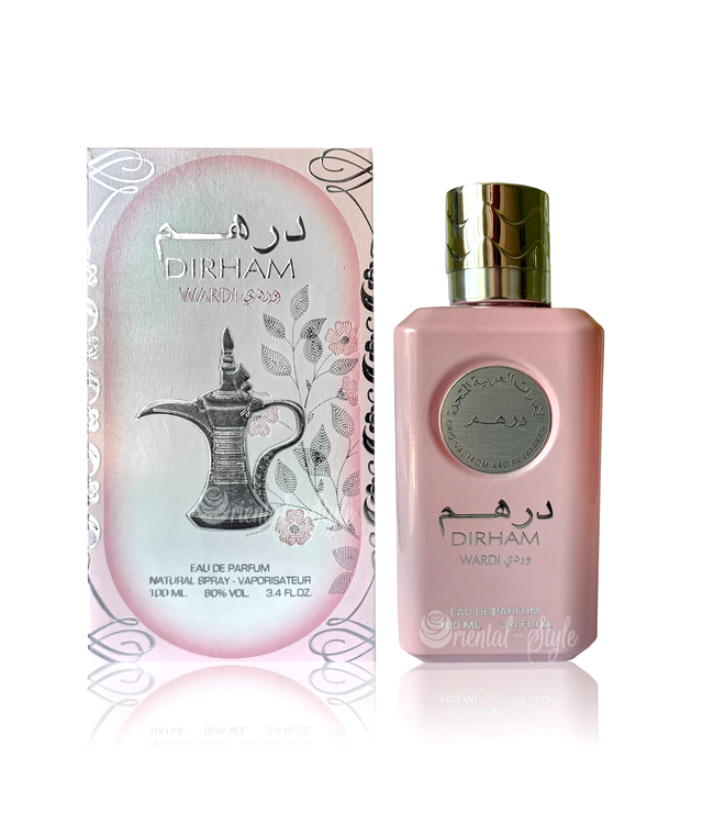 Ard Al Zaafaran Perfumes  Dirham Wardi Eau de Parfum 100ml Ard Al Zaafaran Perfume Spray