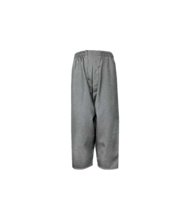 Comfortable and loose-fitting Islamic Sunnah pants in heather gray