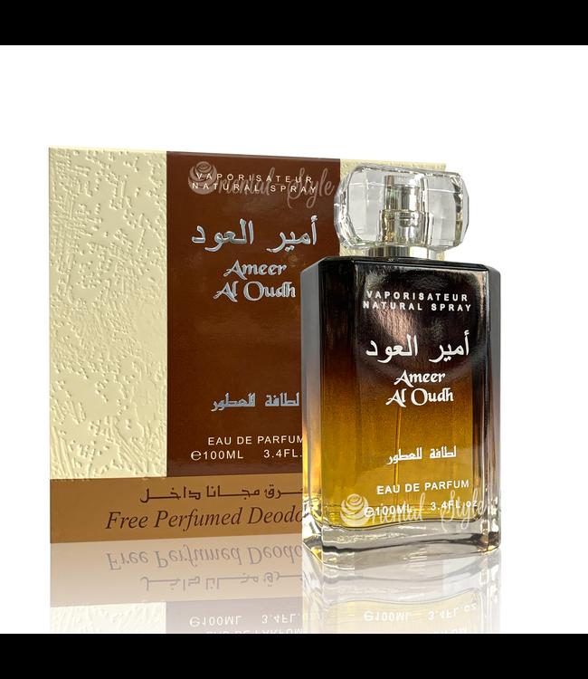 Ameer Al Oudh  Eau de Parfum + Deo Spray  Spray von Lattafa
