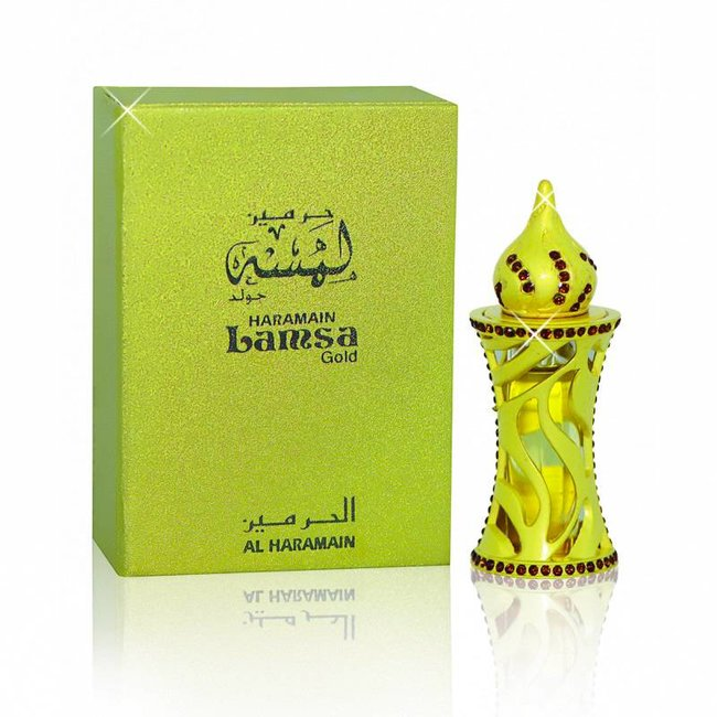 Al Haramain Al Haramain Perfume oil Lamsa Gold - 12ml