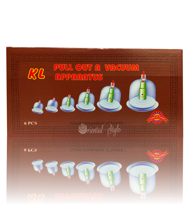 Cupping Hijamah Therapy Set 6 Cups