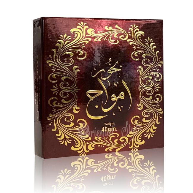 Ard Al Zaafaran Perfumes  Bukhoor Amwaj Ard Al Zaafaran 40g