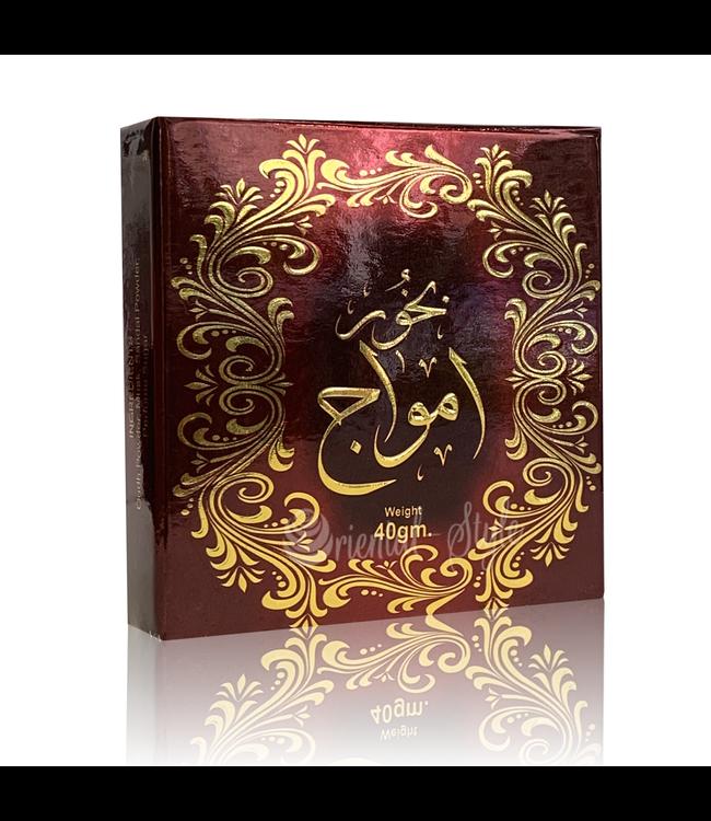 Ard Al Zaafaran Perfumes  Bukhoor Amwaj Incense (40g)