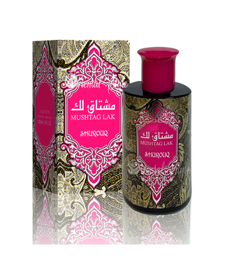 Swiss Arabian Mushtag Lak Eau de Toilette 100ml Shurouq Perfume Spray