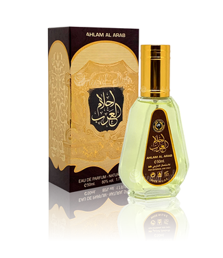 Ard Al Zaafaran Perfumes  Ahlam Al Arab Eau de Parfum 50ml Vaporisateur/Spray