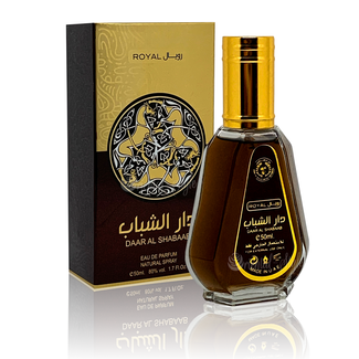 Ard Al Zaafaran Perfumes  Daar Al Shabaab Royal Eau de Parfum 50ml Vaporisateur/Spray