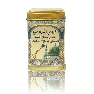 Al Rehab  Solid Perfume - Amber Musk Jamid 25g