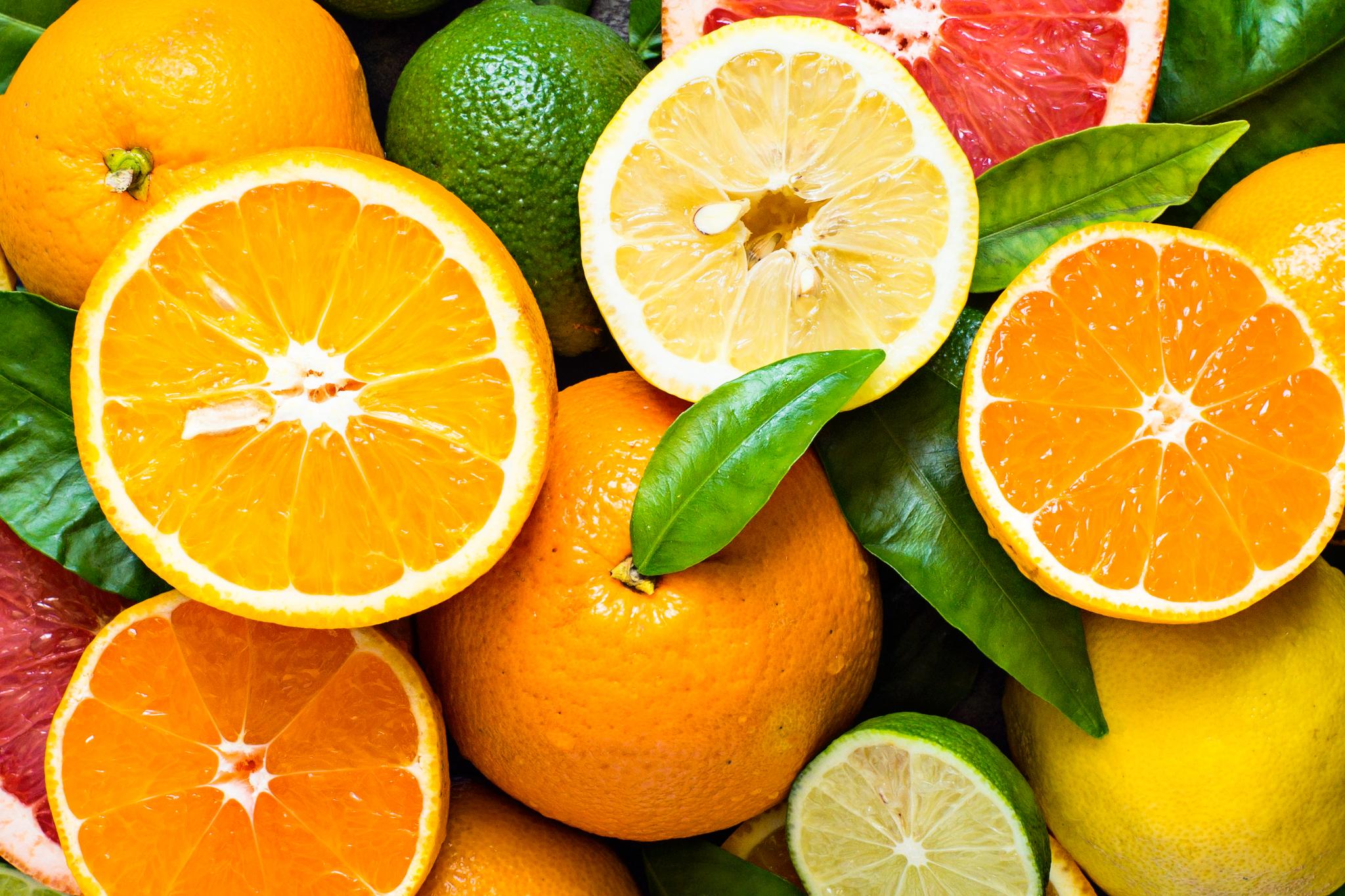 Zitrusfrüchte in Herrenparfüm
