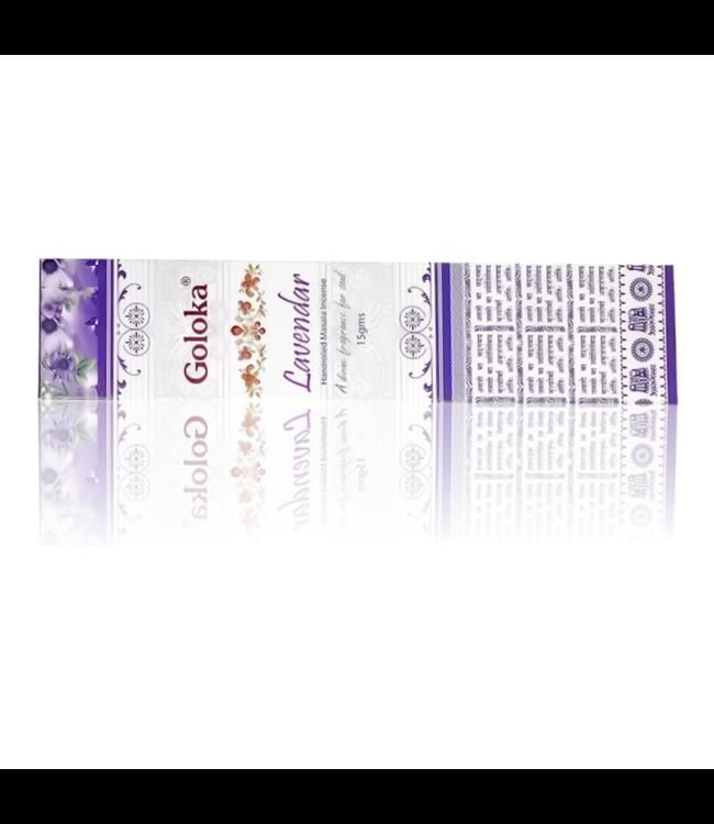 Goloka Incense sticks Goloka Lavendar With Lavender Scent (15g)
