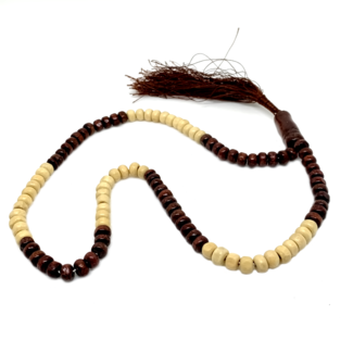 Tasbih prayer beads - Wooden Round