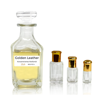 Sultan Essancy Perfume oil Golden Leather by Sultan Essancy