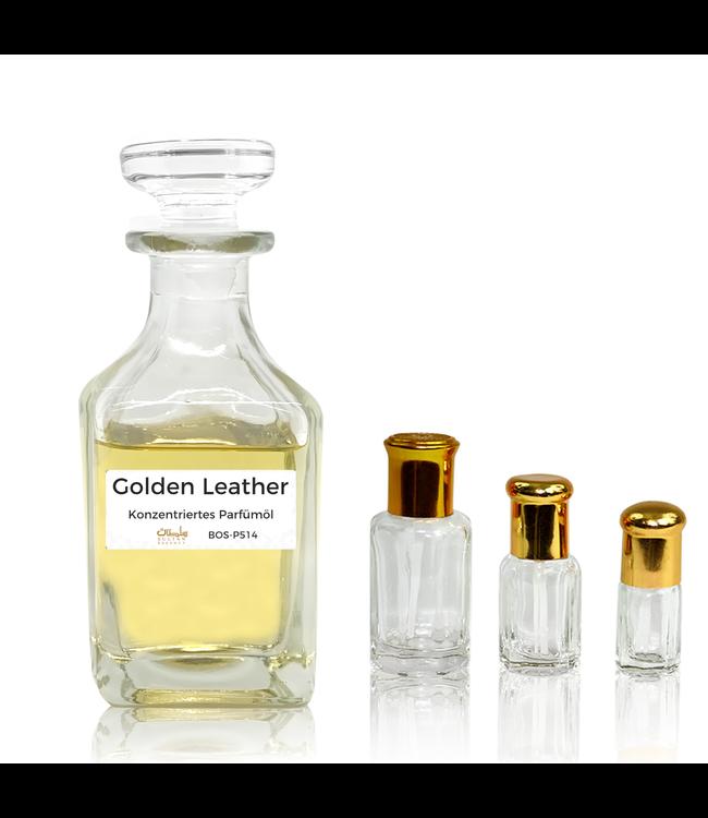 Sultan Essancy Parfümöl Golden Leather - Parfüm ohne Alkohol