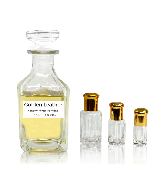 Sultan Essancy Perfume oil Golden Leather - Perfume free from alcohol