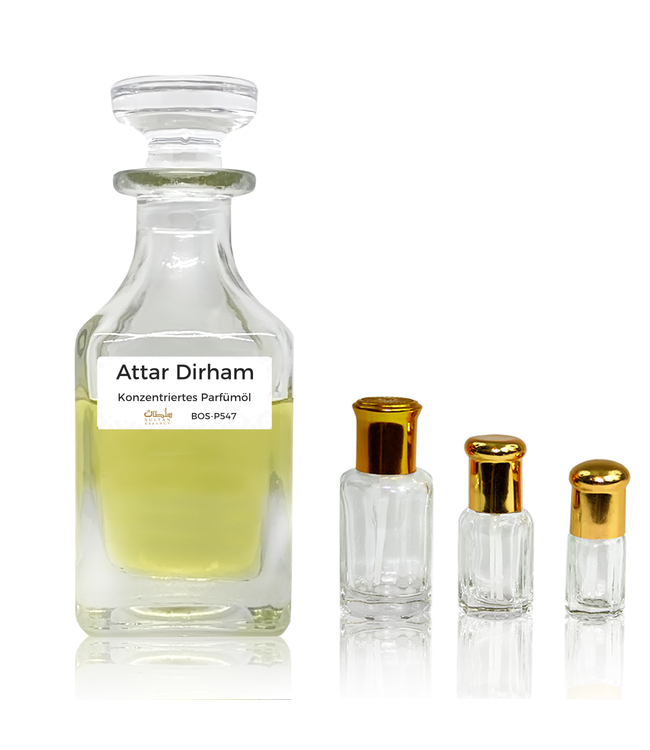 Sultan Essancy Parfümöl Attar Dirham - Parfüm ohne Alkohol