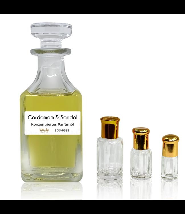 Sultan Essancy Perfume oil Cardamom & Sandal - Perfume free from alcohol