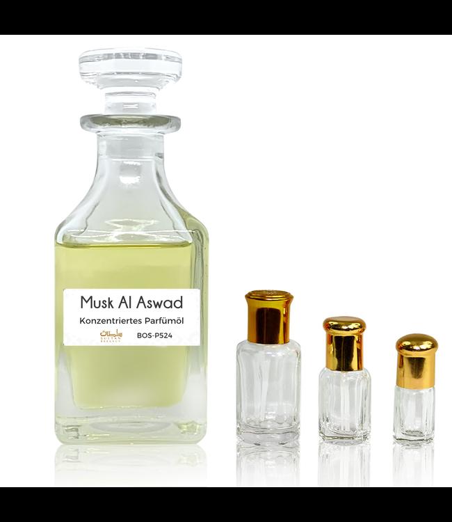 Sultan Essancy Perfume oil Musk Al Aswad - Perfume free from alcohol