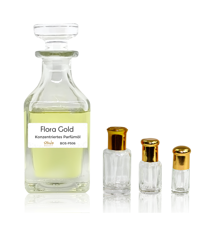 Sultan Essancy Perfume oil Flora Gold - Perfume free from alcohol