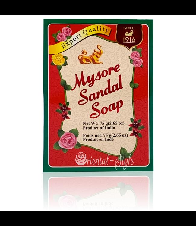 Mysore Sandalwood Soap - Purely herbal (75g)