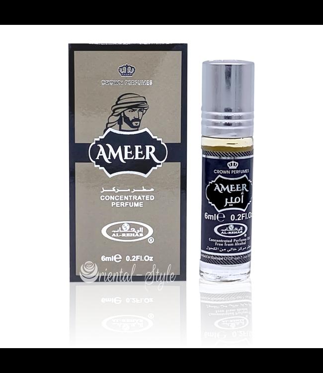 Al Rehab  Ameer  Al Rehab 6ml - Parfümöl ohne Alkohol