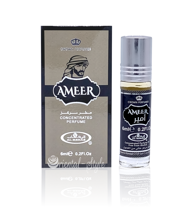 Al Rehab  Concentrated Perfume Oil Ameer 6ml