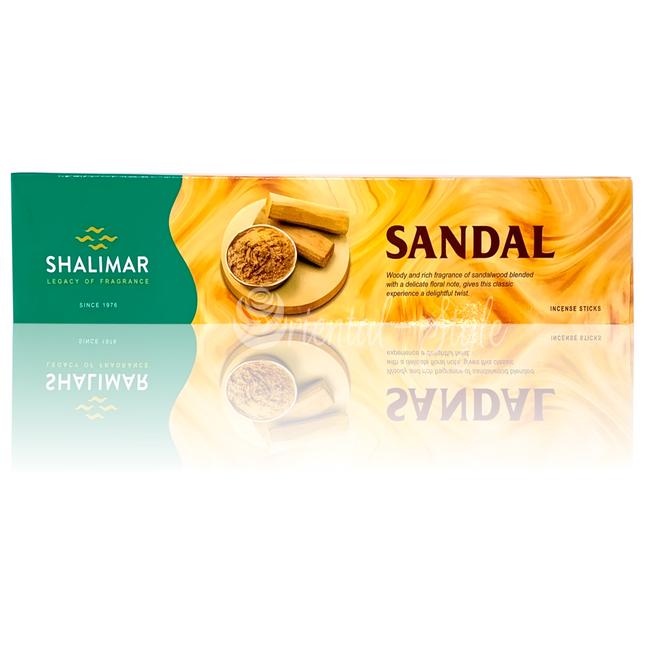 Premium Räucherstäbchen Sandal von Shalimar