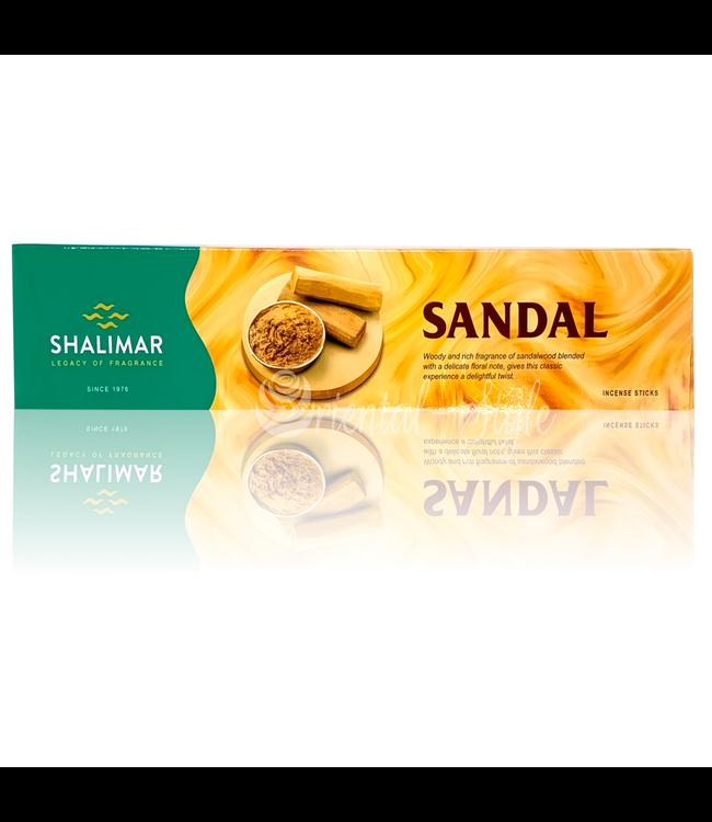 Shalimar Premium Räucherstäbchen Sandal mit Sandelholz (40g)