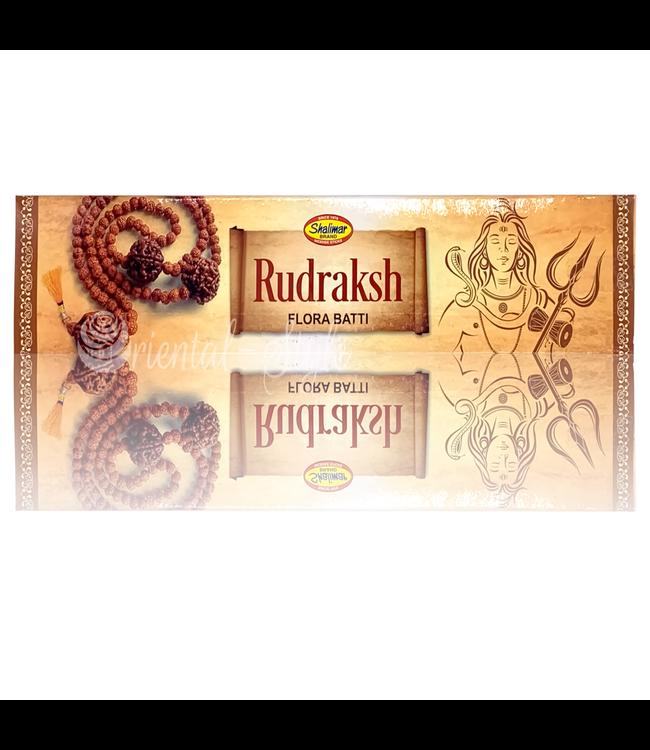 Shalimar Premium Räucherstäbchen Rudraksh mit Blütenduft (20g)