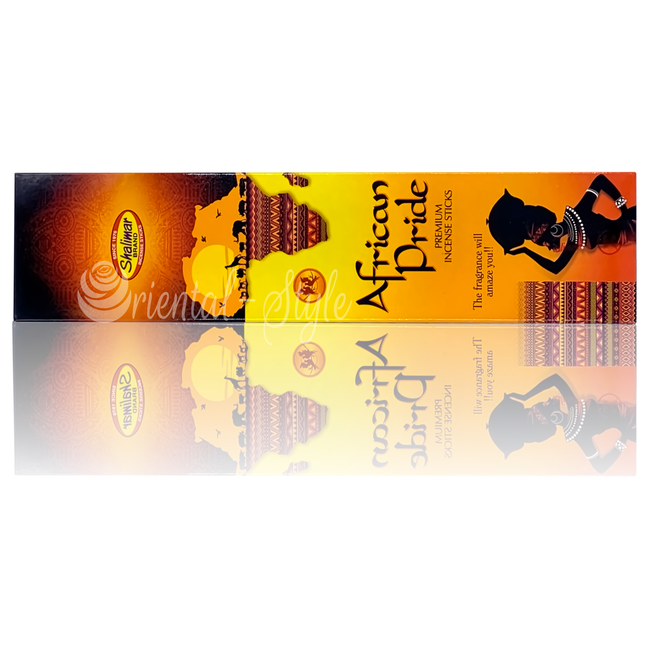 Shalimar Premium Incense sticks African Pride  (20g)