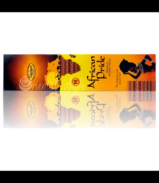 Shalimar Premium Räucherstäbchen African Pride mit Blütenduft (20g)