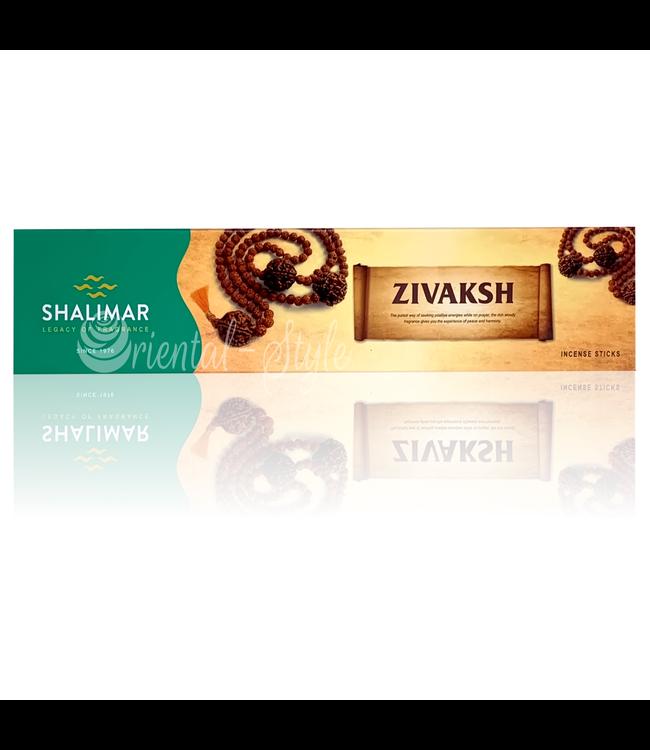 Shalimar Premium Räucherstäbchen Zivaksh mit Hölzern (40g)