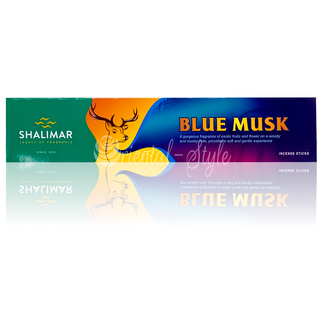 Shalimar Premium Incense sticks Blue Musk (20g)