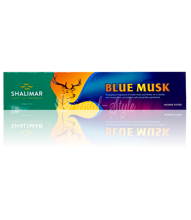 Shalimar Premium Incense sticks Blue Musk (20g)
