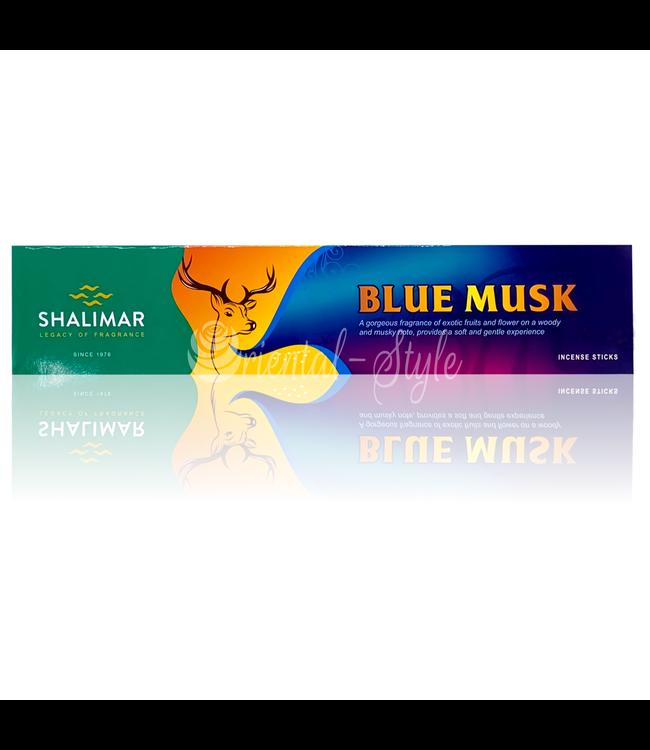 Shalimar Premium Räucherstäbchen Blue Musk mit Moschus (20g)
