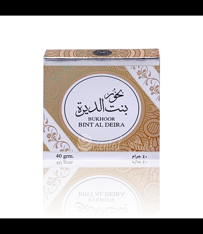 Ard Al Zaafaran Perfumes  Bakhoor Bint Al Deira Ard Al Zaafaran (40g)